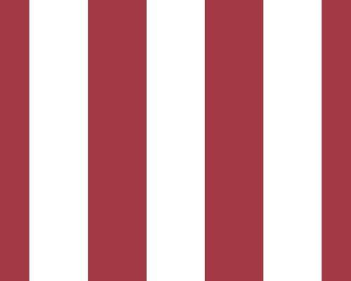 Blockstreifen tapete rot wei mit ca 9 cm breiten streifen glatt und ohne - Wandgestaltung ohne tapete ...