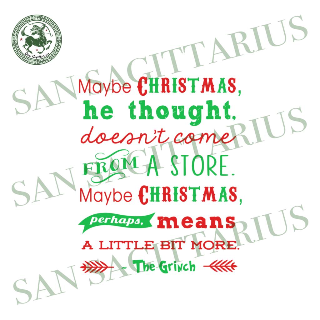 Maybe Christmas Svg Christmas Svg Christmas Saying Christmas Font The Grinch Svg Christmas Grinch Grinch Svg Christmas Snowflake Green Grinch Svg Chris Christmas Quotes Christmas Svg Christmas Fonts
