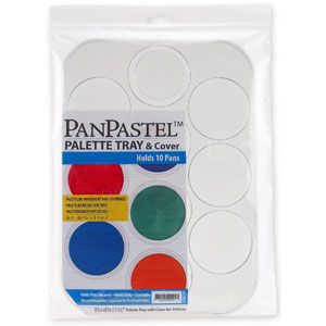 11 00 Curry S Art Store Panpastel Empty Tray 10 Sections