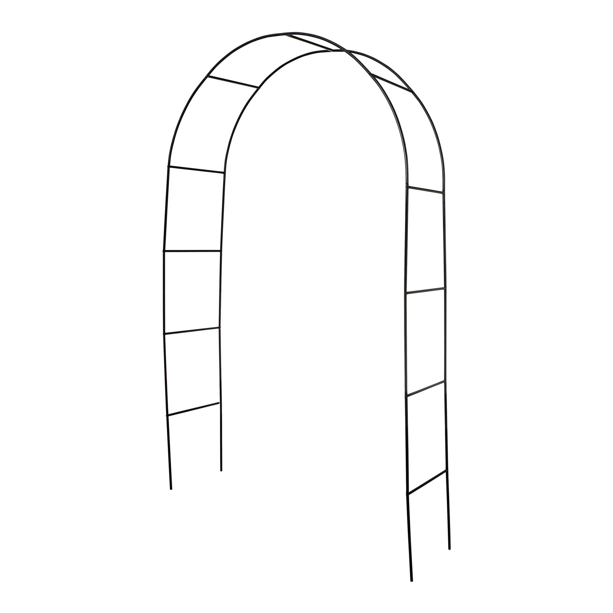 Black Garden Arch Bunnings Warehouse Budget Garden Ideas With