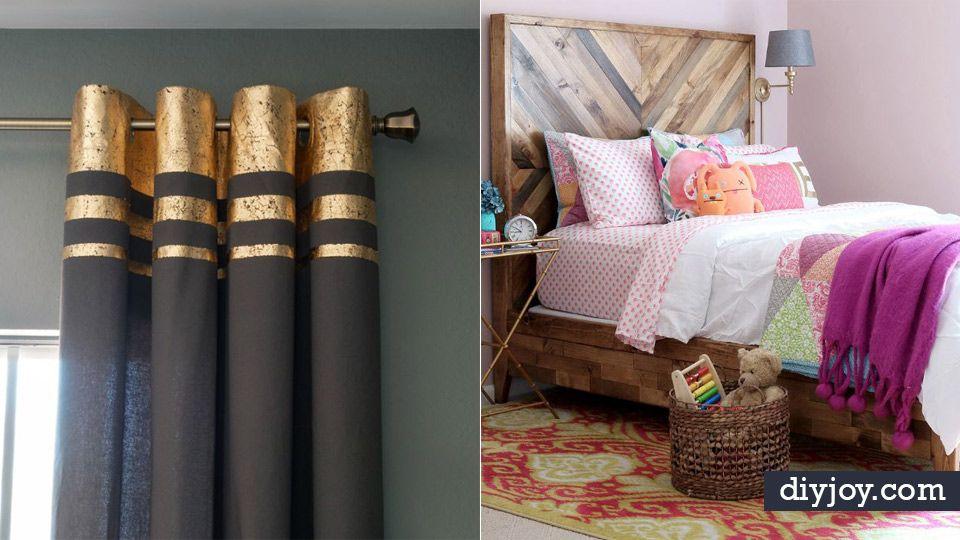 Diy Bedroom Decor Ideas Easy Room Decor Projects For Home Bedroom Diy Diy Bedroom Decor Diy Room Decor