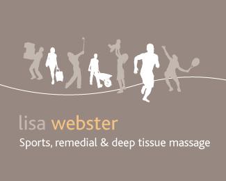 Lisa Webster Sports Massage Massage Logo Sports Massage