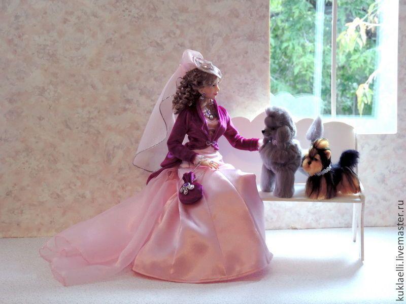 Дама с собачкой | Собачки, Куклы, Куколки