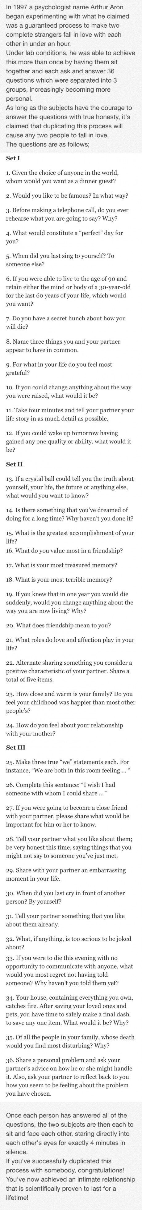 Funny questions to ask someone youre dating