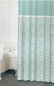 My New Shower Curtain From Kirklands To Go With Vintage Beach Theme In Our Bathroom