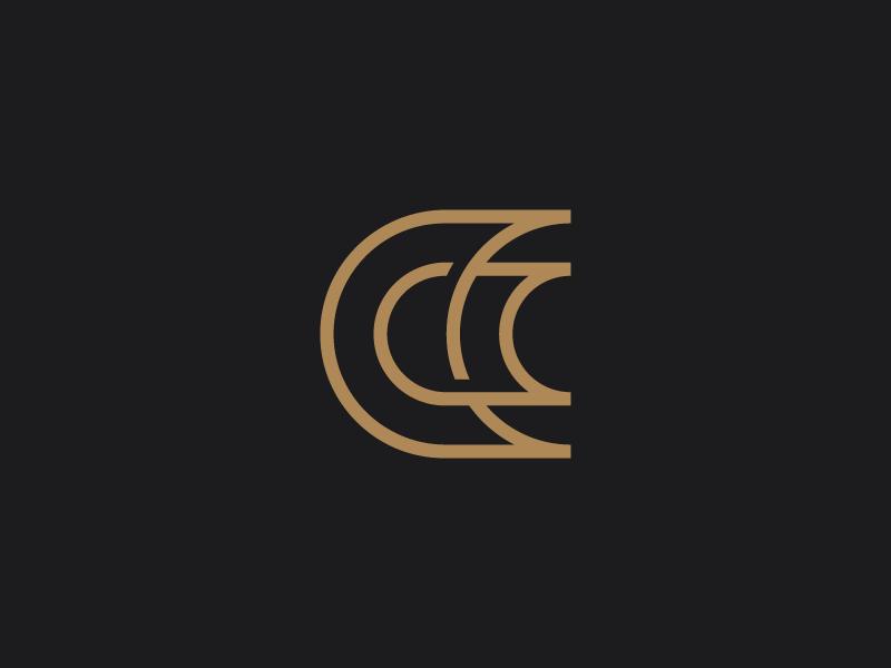 Cc Monogram Branding Design Logo Monogram Letter Logo Design