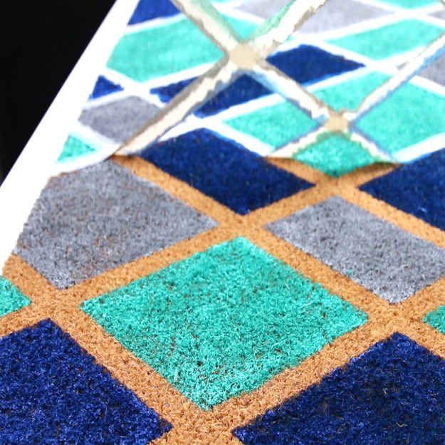 This Diy Doormat Will Give You Instant Curb Appeal Door Mat Diy Door Mat Home Diy