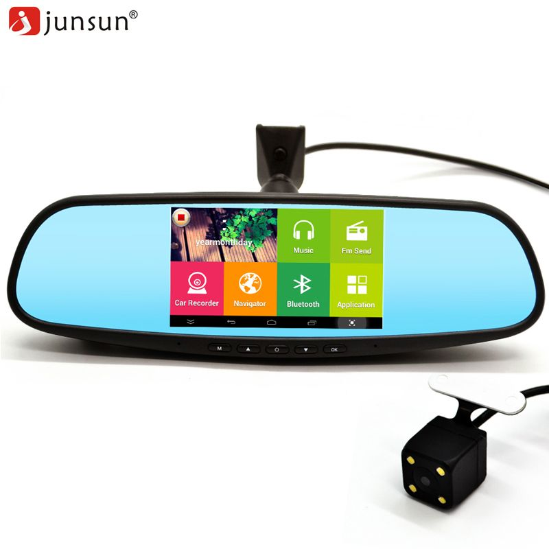 hd dvr Dash camera, Mirror video, Gps navigation