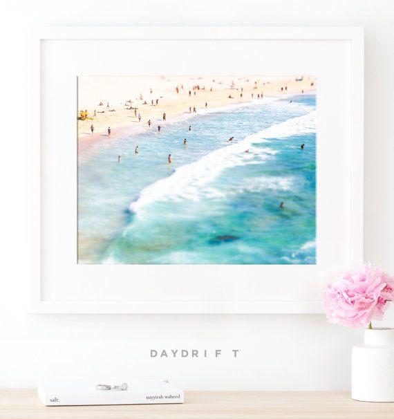 Framed Bondi Beach Photo Print Aerial Beach Photography