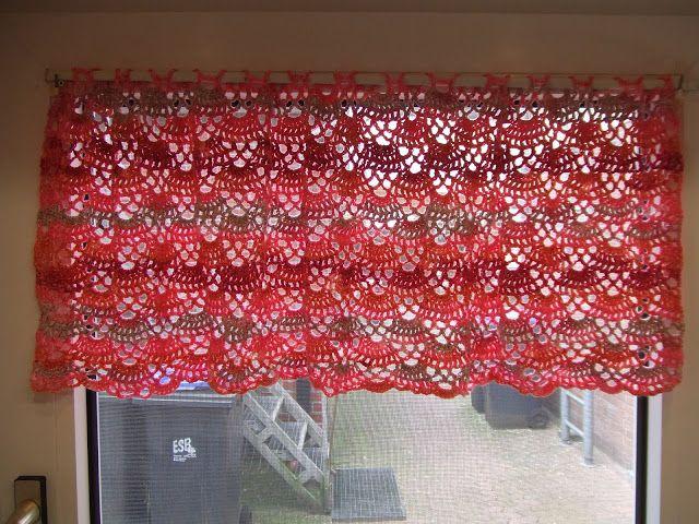 My World Of Crochet Curtain Free Pattern Chart Only Crochet