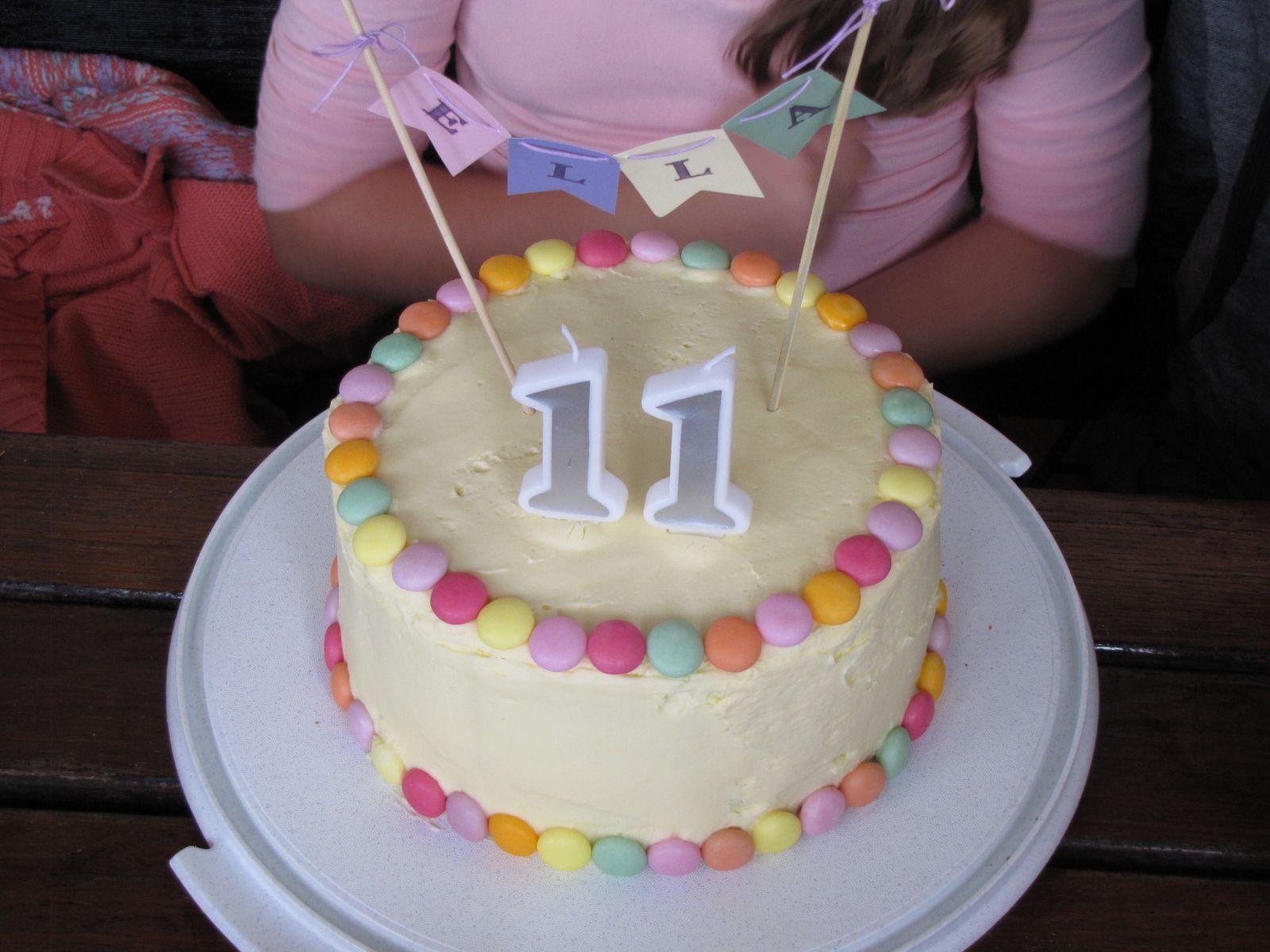11 Year Old Birthday Cake Decor Party Cakes Cake Birthday Cake