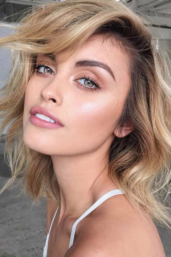 Natural Makeup Look Blue Eyes Blonde Hair Makewalls Co