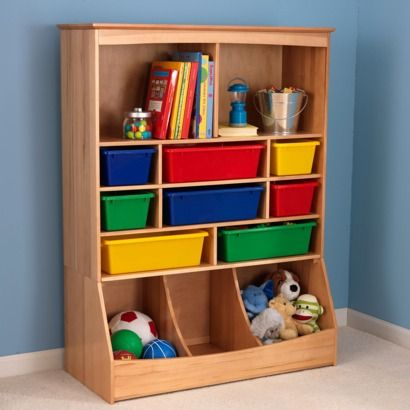 KidKraft Wall Storage Unit   Honey.Opens In A New Window