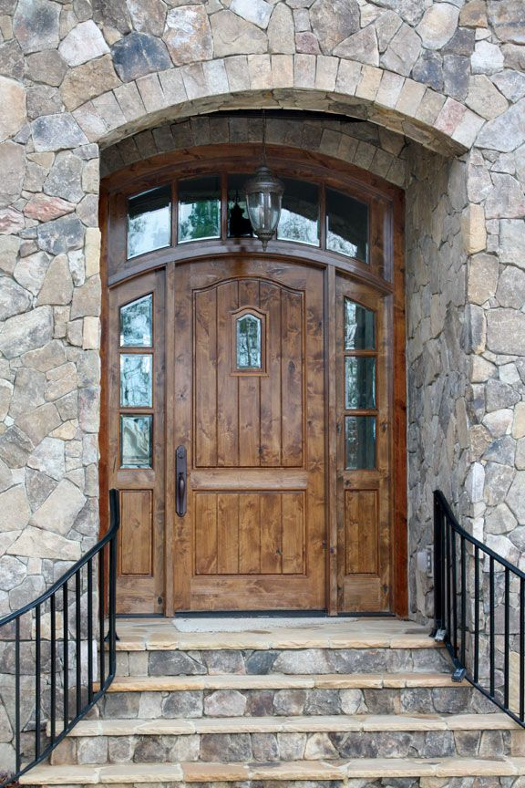 Arched Transom And Sidelights