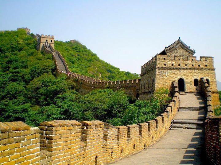La Gran Muralla China China Antigua Fortificación Construida Y Reconstruida Entre El Siglo V Ac Y El Xvi La Gran Muralla China Muralla China La Gran Muralla