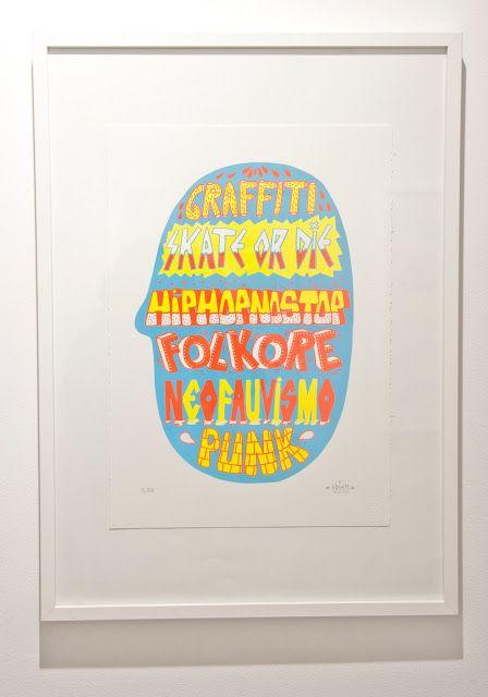 Neofauvismo by Zosen & Mina Hamada ~ Velvet Liga - Graffiti, galleries, design, street culture