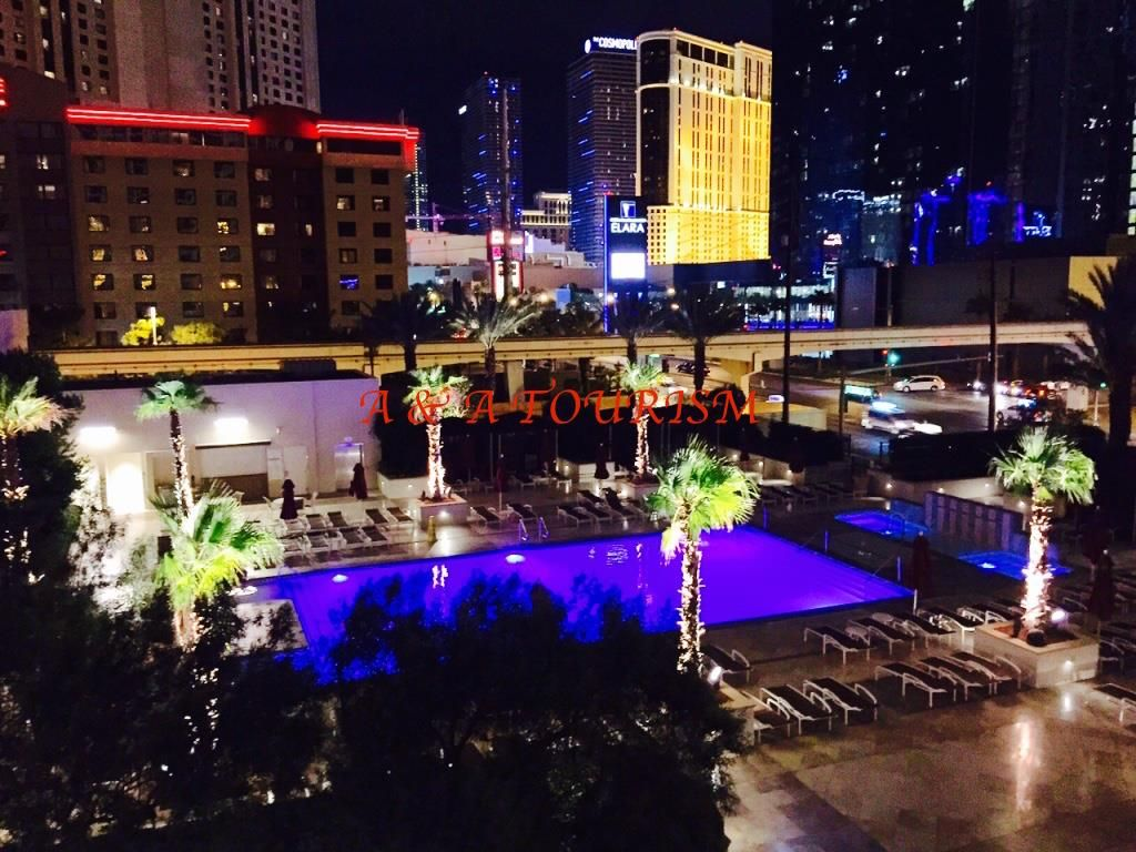 Las vegas nv aaa mgm signature deluxe suite with balcony