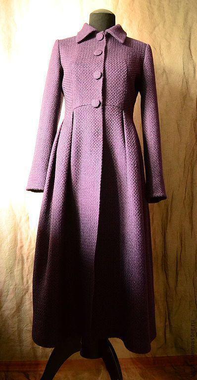 Верхняя одежда ручной работы. Ярмарка Мастеров - ручная работа. Купить  Платье-пальто