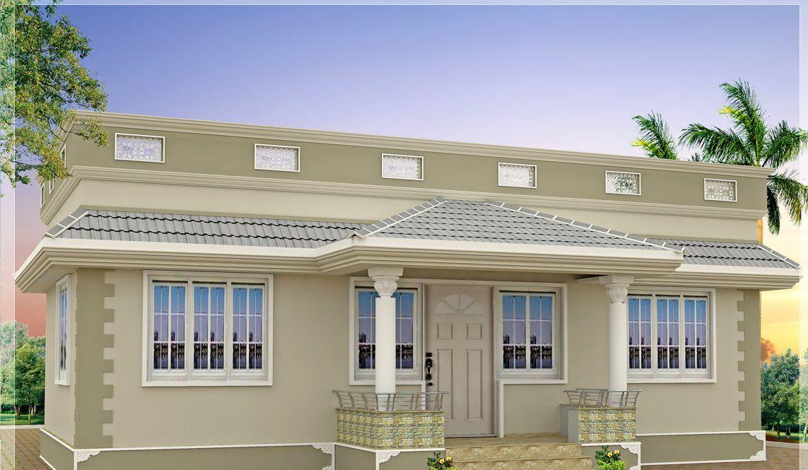 1000 Sq Ft House Plans Indian Style Model House Plan Single Floor House Design Kerala House Design