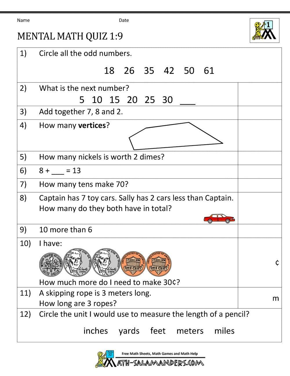 4 Worksheet Free Math Worksheets Second Grade 2 Measurement Weight Pounds First Grade Mental Mental Maths Worksheets Mental Math Math Worksheets [ 1294 x 1000 Pixel ]