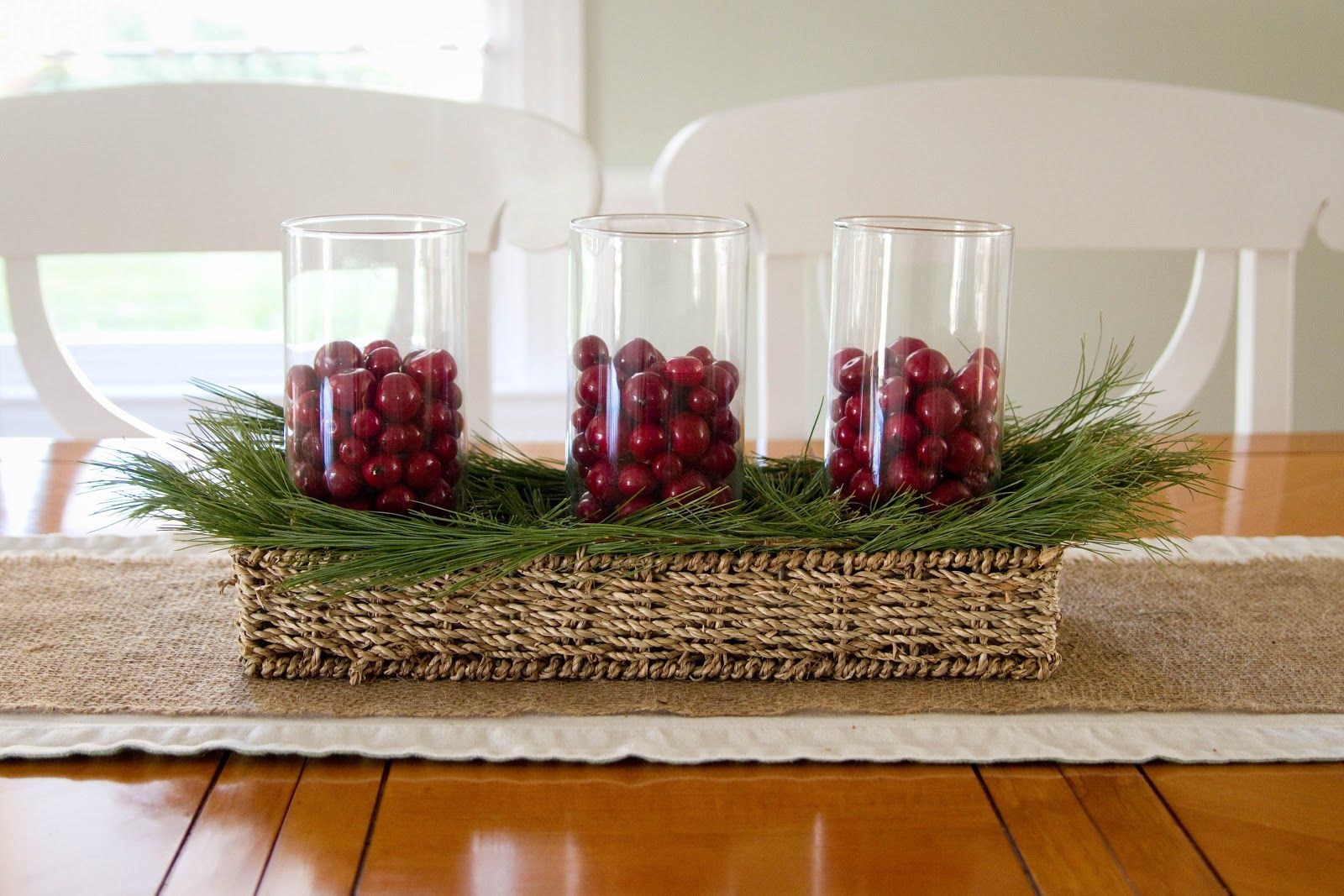 decorating your kitchen using kitchen table centerpieces is very