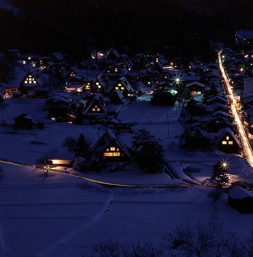 Shirakawa Village, Japan: photo by syayu-jin, via Flickr
