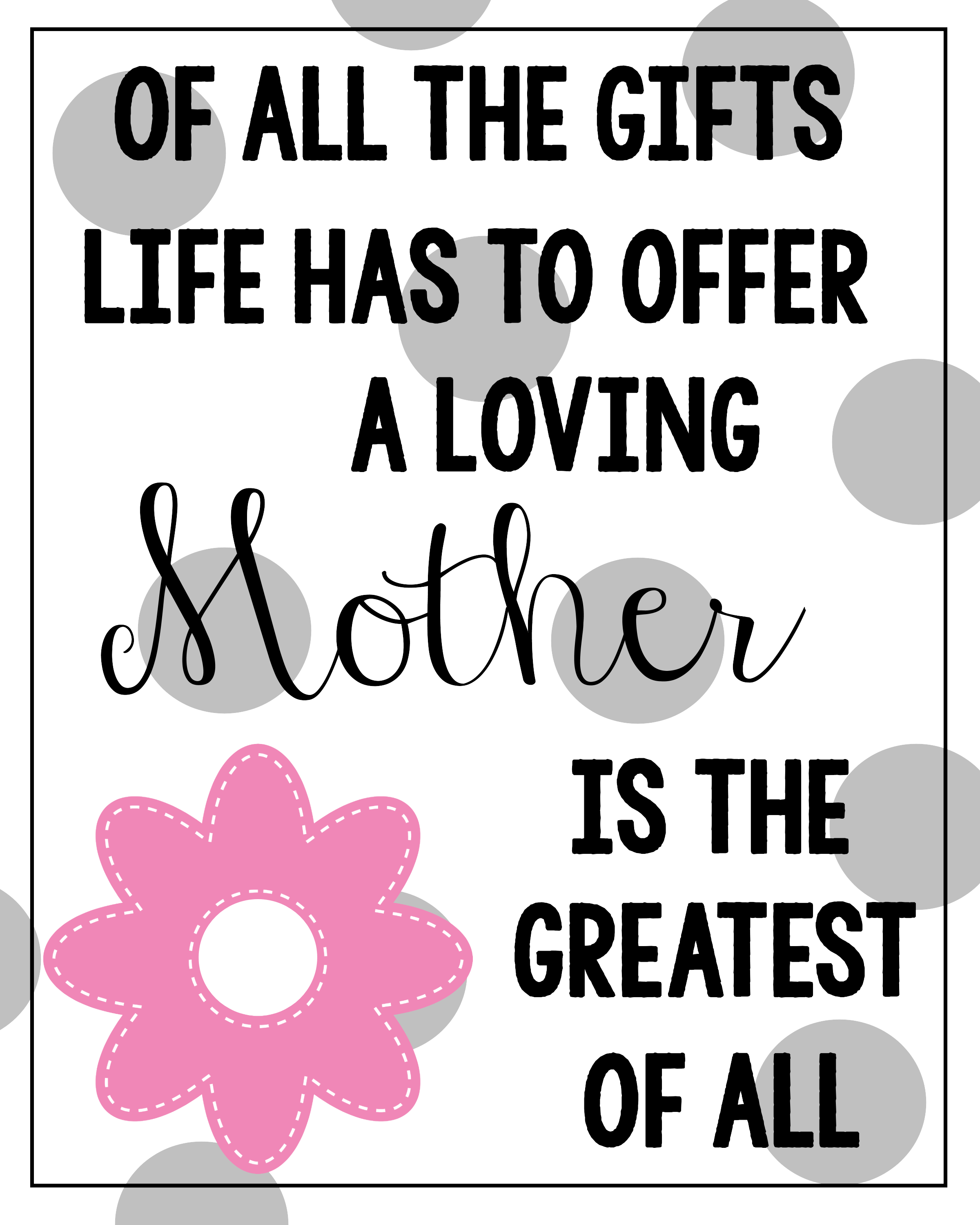 Delicieux Motheru0027s Day Printable Quotes   Google Search