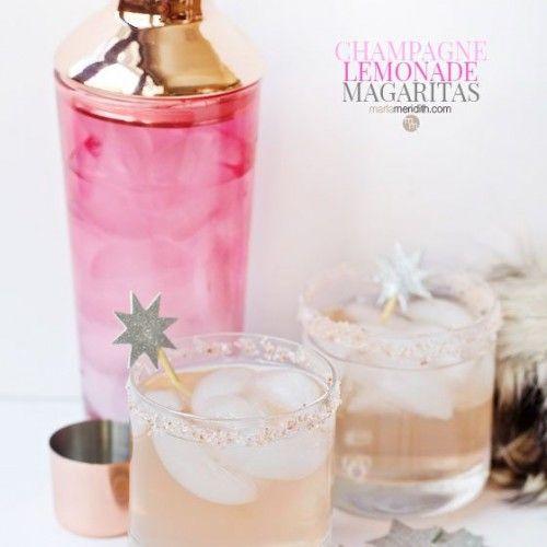 Sparkling Champagne Lemonade Margaritas