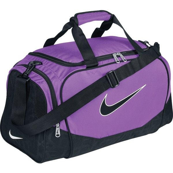 Nike Brasilia 5 Duffel Bag Small 97 Brl Liked On Polyvore Featuring Bags