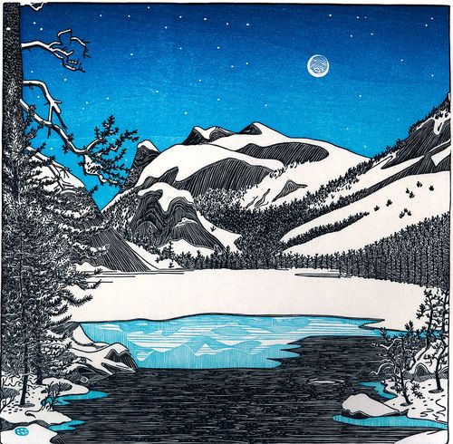 Tom Killion Lake Tenaya Yosemite Color PrintBlock