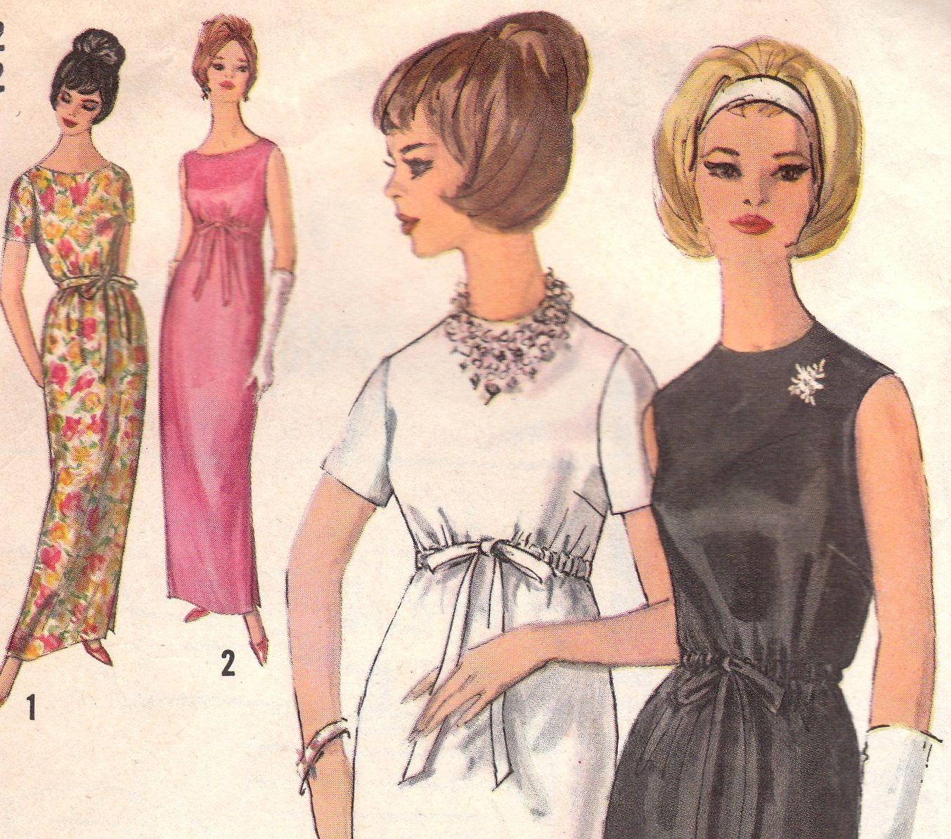 S simple dress pattern simplicity size simple dress