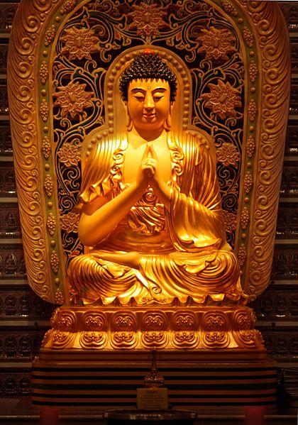 Chinese depiction of Buddha