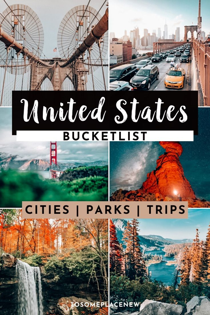 USA bucket lists | Best places to visit in US | United States places to visit | Travel destinations in the USA summer winter all budget | Top US vacations and getaways from cities, small towns to national parks #usa #bucketlist