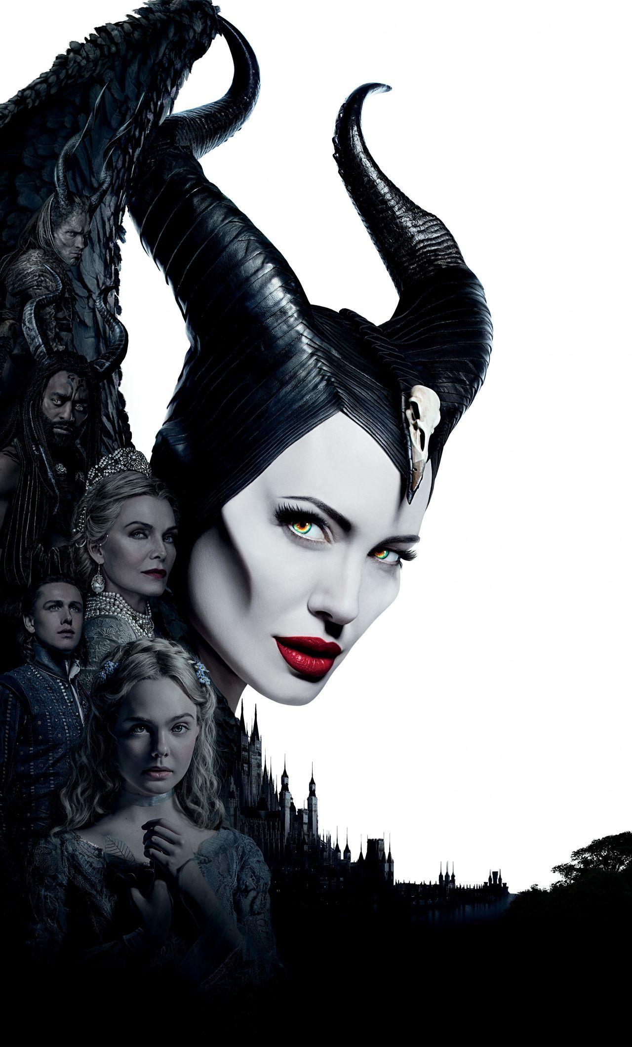 1280x2120 Maleficent Mistress Of Evil Movie Poster 2019