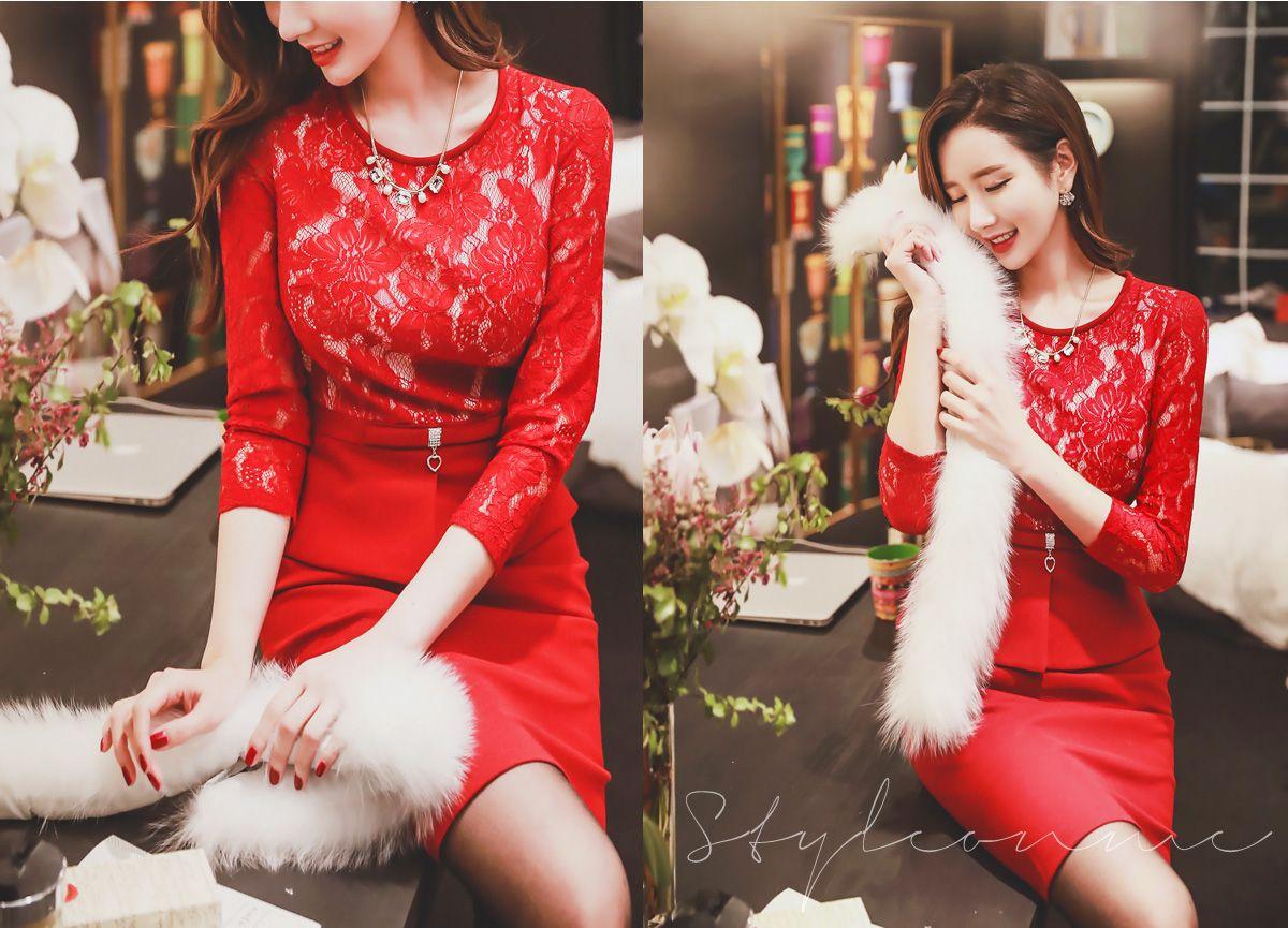 Romantic trendy looks styleonme korean model style on me
