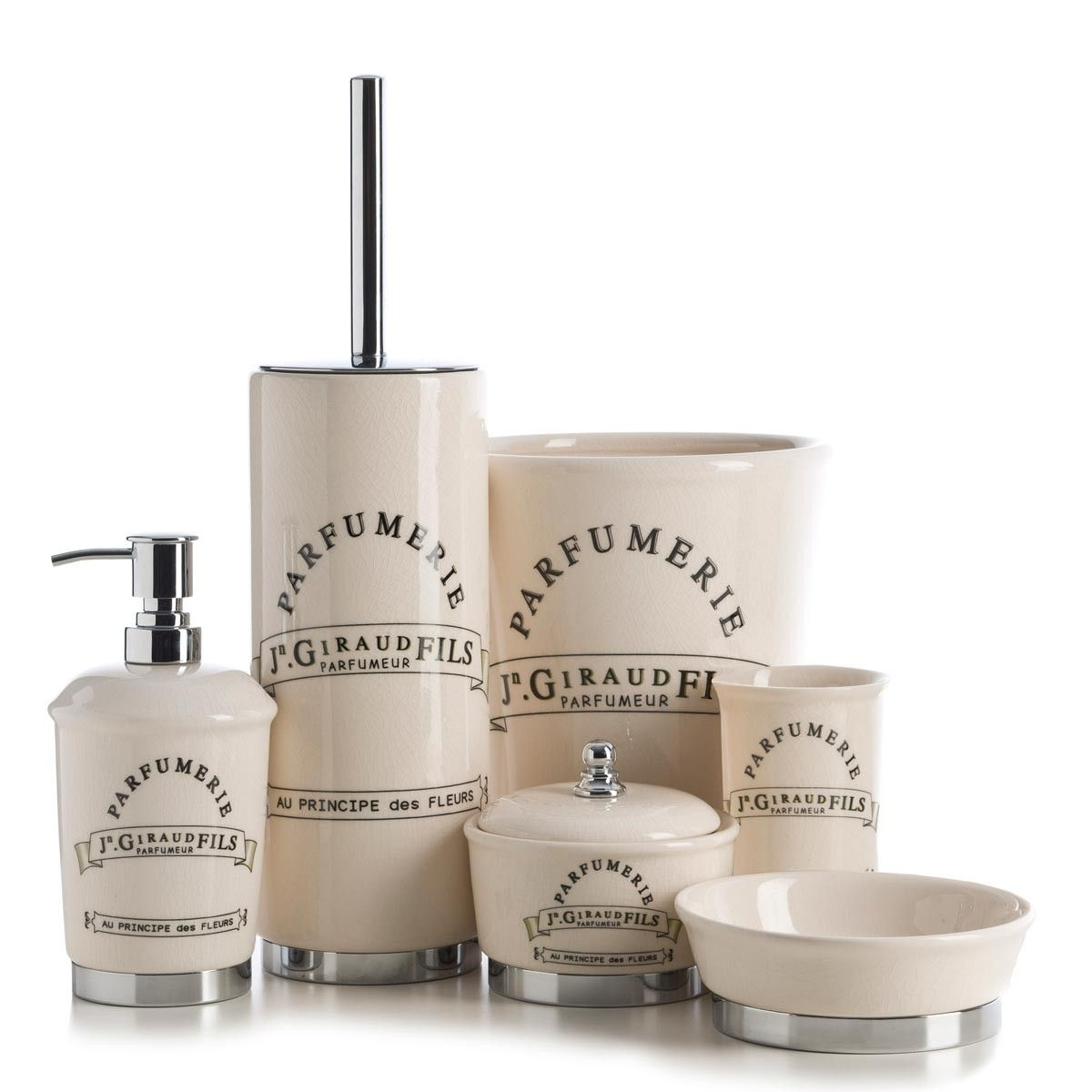 Add a touch of vintage charm to your bathroom with the Parfumerie ...