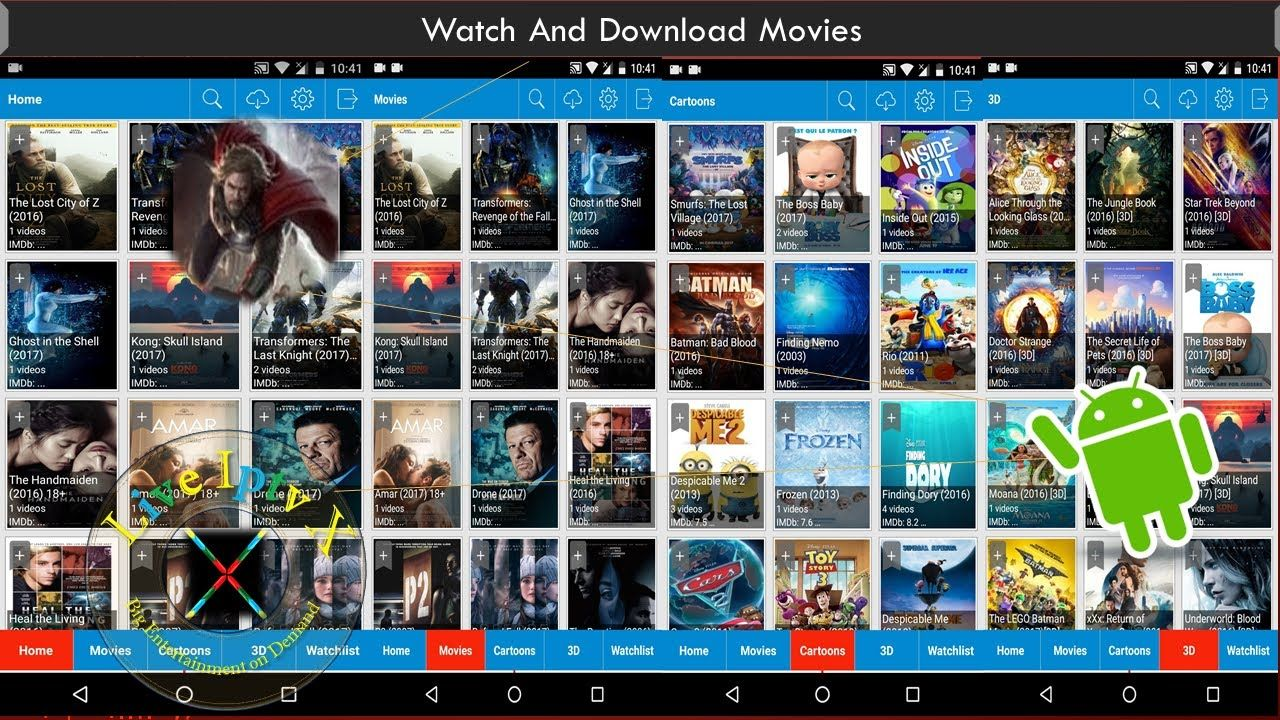 ADS FREE NEWEST 3D MOVIES APK FOR FREE WATCH MOVIES ON