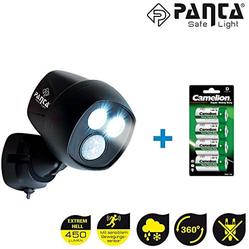 Panta Safe Light 1 Stuck Led Sicherheitslicht Inkl 4 Stk 15v Batterien Aussenleuchte Wandleuchte Mit Bewegungssensor Lich In 2020 Innenbeleuchtung Einbauleuchten Led