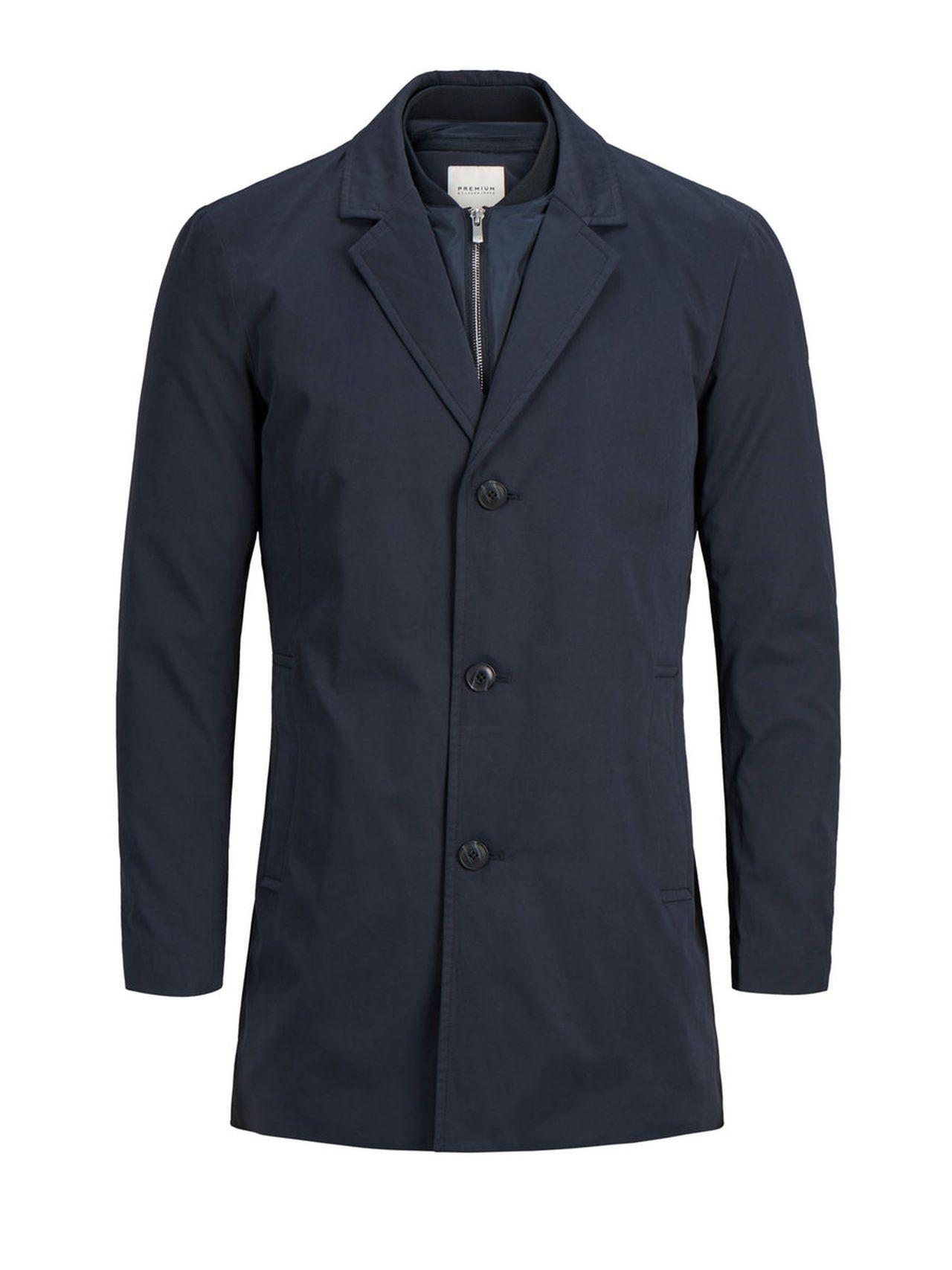 Jackandjones Lassiger Mantel Herren Blau 5713723799360 Mode Ootd Outfit Fashion Style Online Jack Jones Lassiger Man Mantel Herren Mantel Herrin