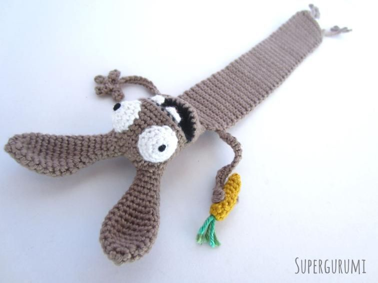 Amigurumi Crochet Books : Amigurumi crochet bookmark bundle bookmarks amigurumi and crochet