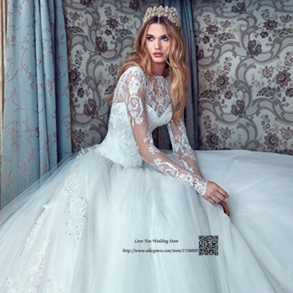 Latest Design African Wedding Gowns Civil Princess Wedding Dress ...