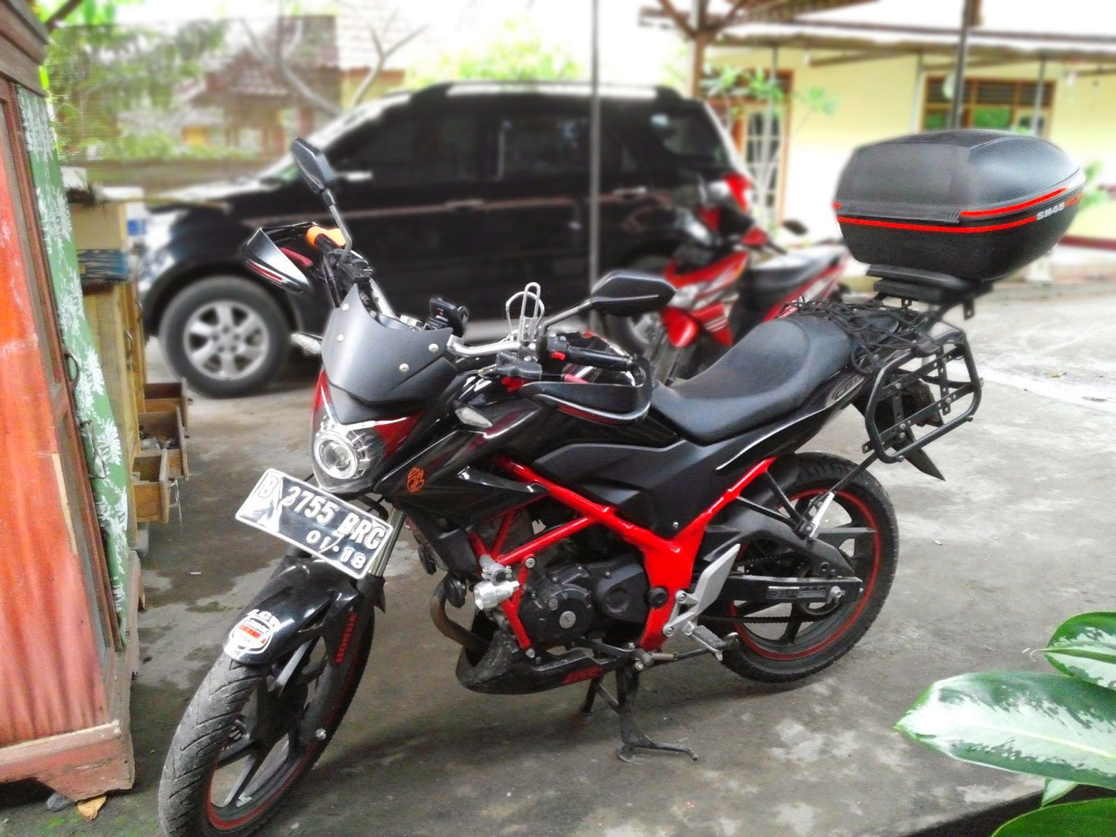 Modifikasi Motor Cb150r Touring
