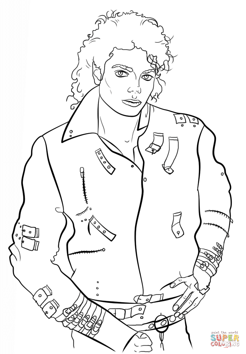 Michael Jackson Super Coloring Michael Jackson Drawings Michael Jackson Art Photos Of Michael Jackson