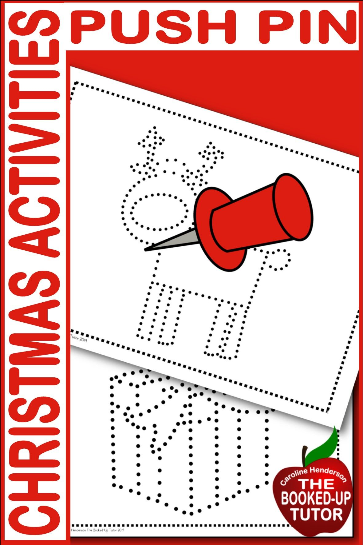 Busy Boxes Christmas Activities Push Pin Pictures