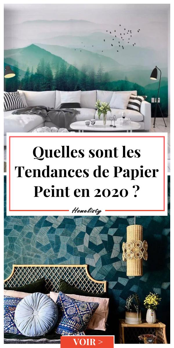 12 Tendances De Papiers Peints En 2020 En 2020 Avec Images