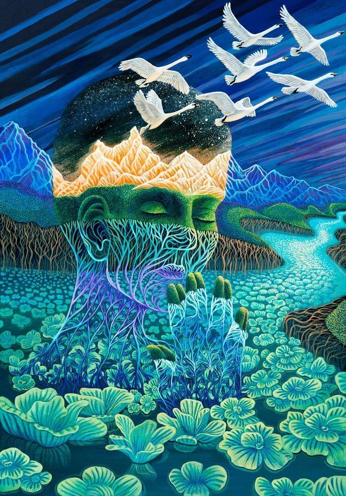 Pin by Sara Diaz on Spirituality in 2020 | Meditation art ...