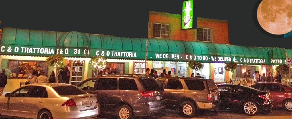 C Trattoria   By the Venice Pier Bread rolls are to die ...
