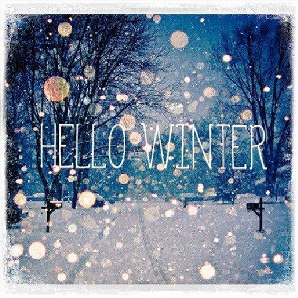 Hello Winter   Google Search