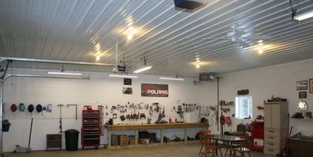 My 30x40 pole barn garage pics the garage journal board for 30x40 shop with loft