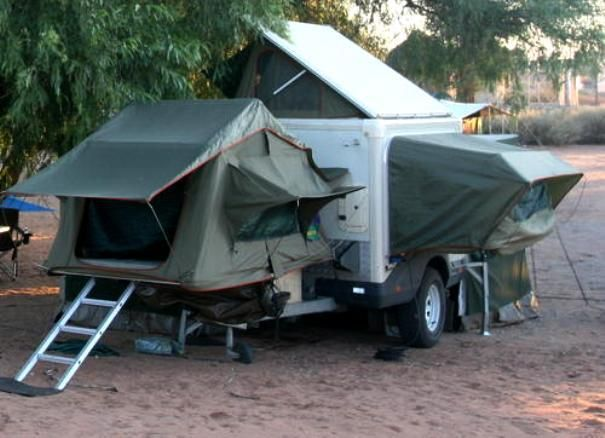 Here Is Another South African Camper Trailer This One Is